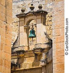 safety bell in Mdina