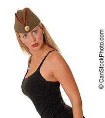 Lovely Blond Soviet Girl