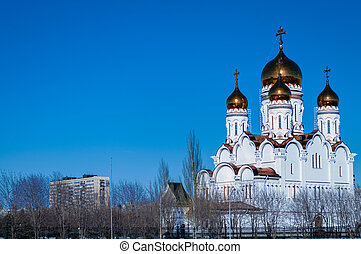 Transfiguration Cathedral - Domes of the Transfiguration...