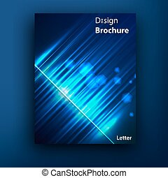 Vector brochure booklet cover design templates collection -...