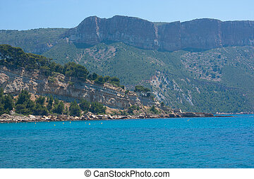 Mountains - Calanques of Cassis, France