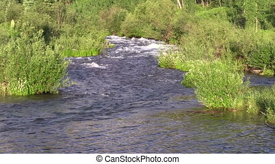 Mountain Stream - the scenic maroon creek flows near aspen...
