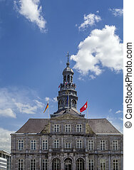 Town hall, Maastricht - The Maastricht City Hall dates from...
