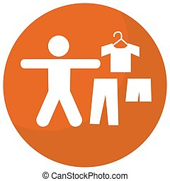 Dress Code Business Icon - An image of a dress code business...