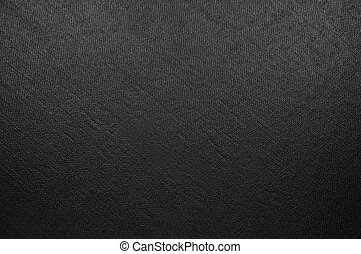 Natural Bright Black Fiber Linen Texture, Large Detailed Macro Closeup, rustic vintage textured fabric burlap canvas background, diagonal pattern, horizontal copy space