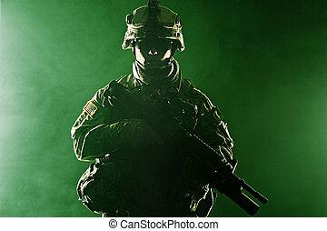 aerotransportado, infantería,