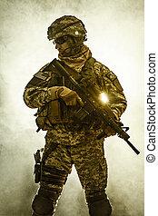 infantería, aerotransportado