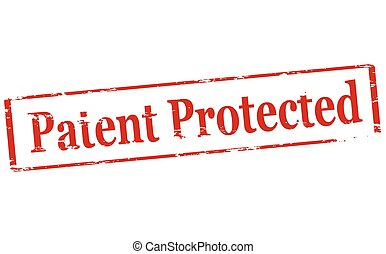 Patent protected - Rubber stamp with text patent protected...