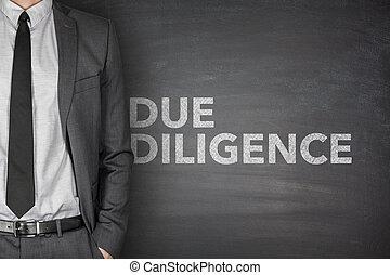 Due diligence on blackboard - Due diligence on black...