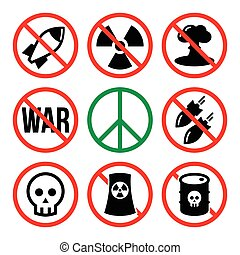 No nuclear weapon, no war, no bombs