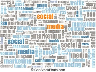 social media marketing tagcloud - social media tagcloud...