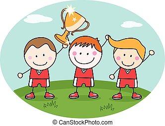 Winner kids team