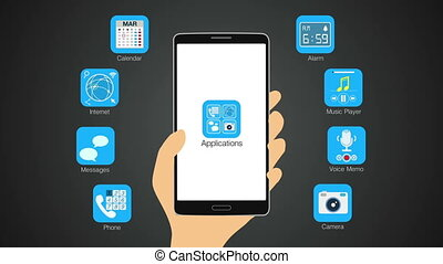 Various application for smart phone