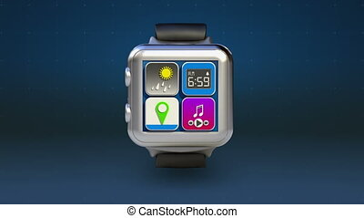 Use smart watch,Access Cloudservice - Use smart watch,...