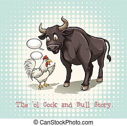 Idiom - English idiom saying the ol cock and bull story