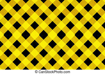 Yellow and black criss cross patter - Yellow textured criss...