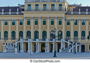 garden of Schonbrunn Palace - Crown prince privy garden of...