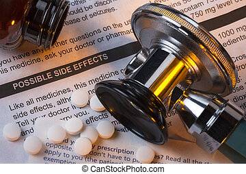 Medicine - Side Effects - Drugs - Prescription medicine -...