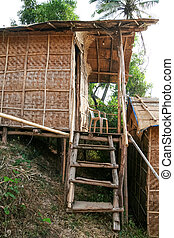 Straw hut accommodation in goa india - Cheap straw hut...