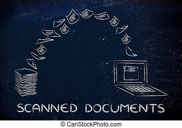 scanned documents: scanning paper and turning it into data -...
