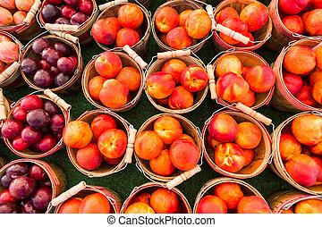 Farmers market - Local produce at the summer farmers market...