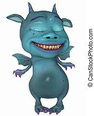 Cute Toon Dragon