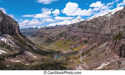 Telluride Colorado 4k Time-lapse - Telluride Colorado San...