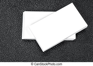 Blank business cards Mock up for your informations - Blank...