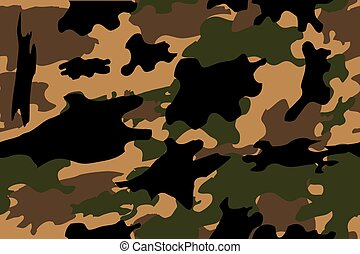 Camouflage - vector Camouflage