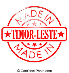 Made in Timor Leste red seal image with hi-res rendered...