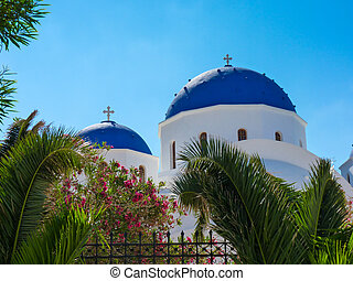 Church in Santorini island