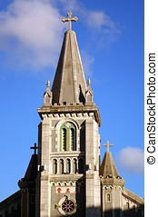 Old Catholic Cathedral in Neogothic Style