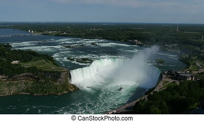 niagara horseshoe falls top view