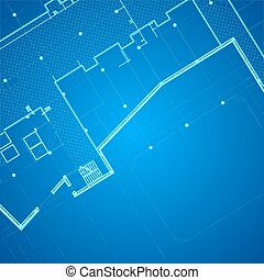 Vector architectural background.