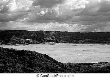 Vermillion Cliffs - landscape of the vermillion cliffs in...