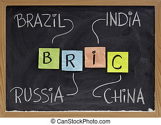 Brazil, Russia, India and China - BRIC - BRIC Brazil,...