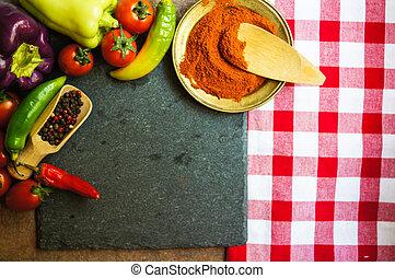 新鮮, 蔬菜