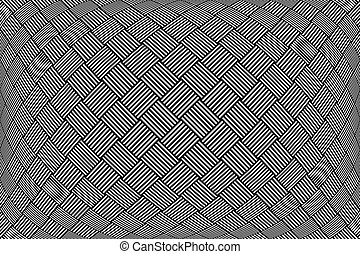 Checked pattern. Textured geometric background. - Checked...