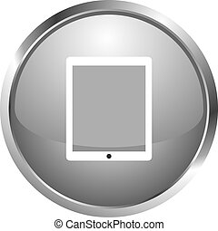 icon ipad - icon in vector form. Flat design icons for...