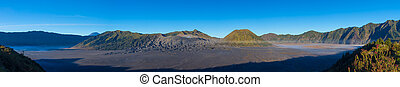Active Volcano In Indonesia - View of Active Volcano In...