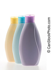 Body lotion bottles