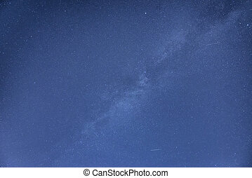 Milky Way galaxy image of night sky with clear stars
