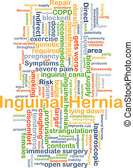 Inguinal hernia background concept - Background concept...