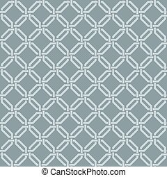Seamless weave damask wallpaper - Seamless vector interwoven...