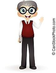 Teacher - colourfull