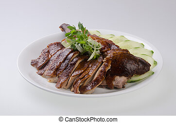 steamed fish chinese style - duck roast duck traditional...