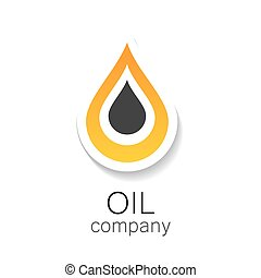 oil company - Chemical and oil industries Logo Design