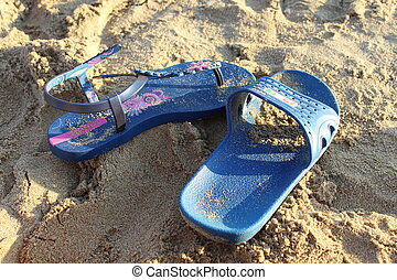 summer thongs - Creative design of summer thongs