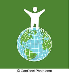 people global world template - People around the world...