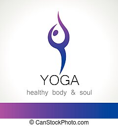 yoga logo - Yoga logo - design template Health Care, Beauty,...